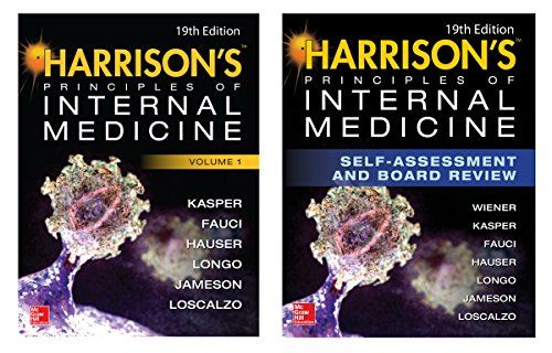 Harrison's Principles and Practice of Internal Medicine 19th Edition and Harrison's Principles of Internal Medicine Self-Assessment and Board Review, 19th Edition (EBook)Val-Pak (English Edition)