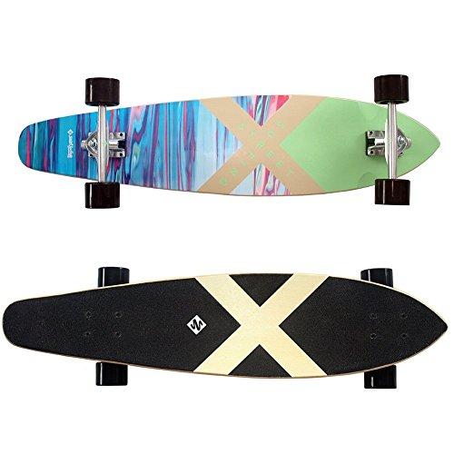 Streetsurfing Longboard Kicktail 36, Mehrfarbig, M