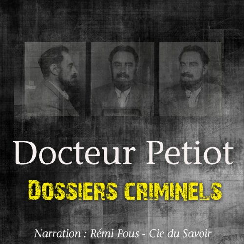 Couverture de L'étrange Docteur Petiot