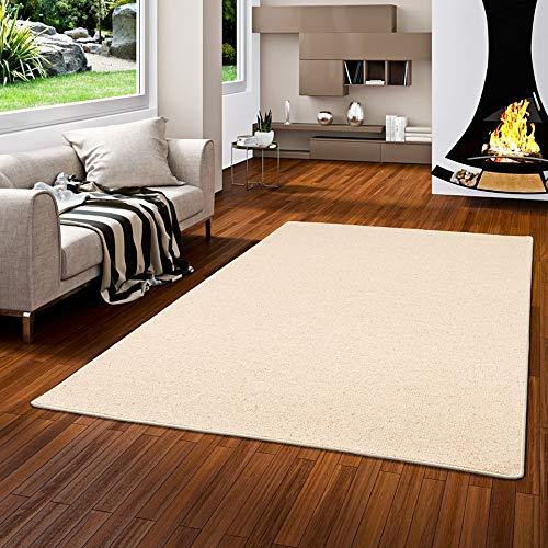 Snapstyle Natur Teppich Wolle Berber Beige in 24 Größen