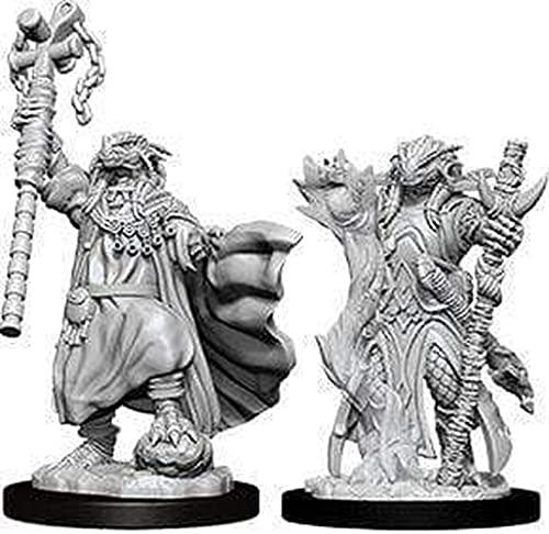 Nolzur's Marvelous Miniatures D&D Nolzurs Marvelous Unpainted Miniatures: Wave 8: Dragonborn Female Sorcerer
