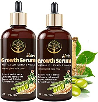 2-Pack Tetyana Naturals Hair Growth Serum