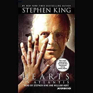 Hearts in Atlantis audiobook cover art