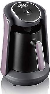 ارزوم اوكا - ماكينة قهوة تركى بـــــ وش منيوا - اسود/بنفسجى فاتح - OK004-D