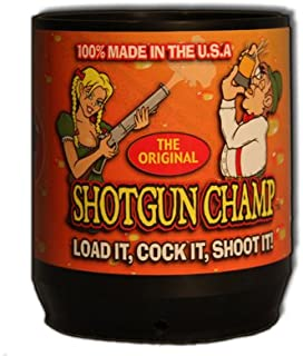 Shotgun Champ Beer Bong (Fits Any 12oz Or 16oz Can) Made In The USA