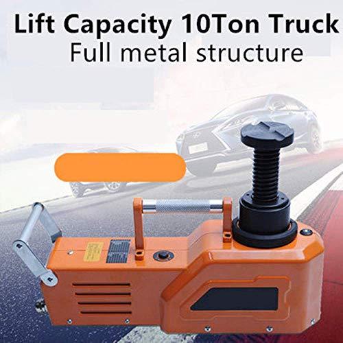 MEETGG Altura máxima de elevación eléctrica 52 cm del gato eléctrico del coche del SUV 12 V/24 V