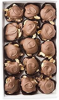 Mrs. Cavanaugh's Caramel Cashew Trinidad | Quality Gourmet Chocolate Gift Box Sweets | 8 oz Milk Chocolate