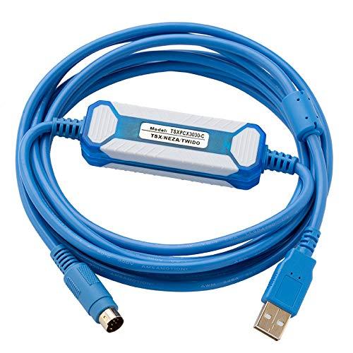 TSXPCX3030-C para Schneider TWido/TSX/Neza Series PLC Cable de programación TSXPCX3030 Cable de descarga