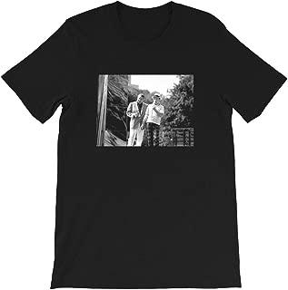 Jackie Gleason and Bob Hope Central Park 1970's Actress Movie Cinema Vintage Gift Men Women Girls Unisex T-Shirt