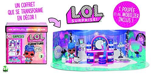 Giochi Preziosi LOL Surprise Furniture Pack con Muñeca Serie 2 LLUC4000
