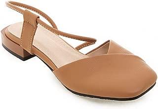 BalaMasa Womens ASL06950 Pu Heeled Sandals