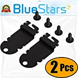Ultra Durable 8212560 Dishwasher Side Mounting Bracket Replacement Kit by Blue Stars - Exact Fit For Whirlpool & Kenmore Dishwashers - Replaces 1201084 AP3953705 PS1487167 - PACK OF 2