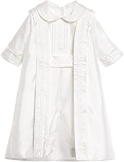 cdde6a685 Newdeve Christening Outfit Baby Boy Baptism Suits Summer Short Sleeves  Christening Gown