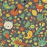COTTONVILL Quiltstoff, Baumwolle, bedruckt, 20 Stück, 22