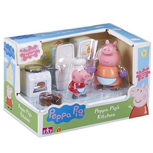 TM Toys- Peppa Pig Playset Cucina, 06148