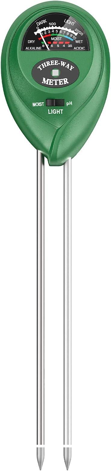 Atree Soil pH Meter, 3-in-1 Soil Tester Kits