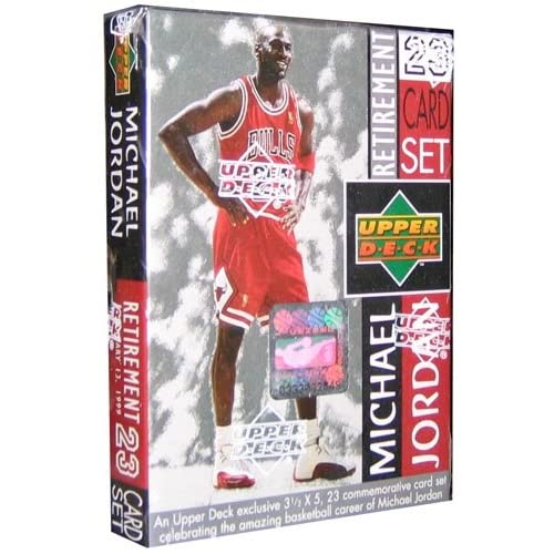18918738841cb0 Michael Jordan 1999 Upper Deck Career Card Set