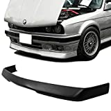 GT-Speed - RG Style PU Front Bumper Lip - Compatible with 1984-1992 BMW E30 3-Series