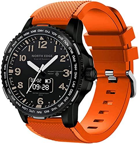 JXFF Smart Watch, iOS, Android, Waterproof, Watch Men's smart Watch Fitness Tracker Heart Rate, Sleep Monitor digital Sports Watch,(B)