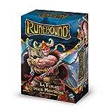 Asmodee- Runebound espansione La Furia delle Montagne Gioco da Tavolo con splendide Miniat...