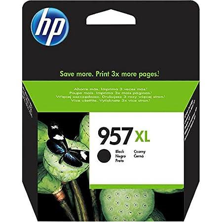 HP 957XL L0R40AE - Cartuccia originale ad alta capacità da 3.000 pagine per HP OfficeJet Pro serie 8200 e HP OfficeJet Pro serie 8700 All-in-One, Nero