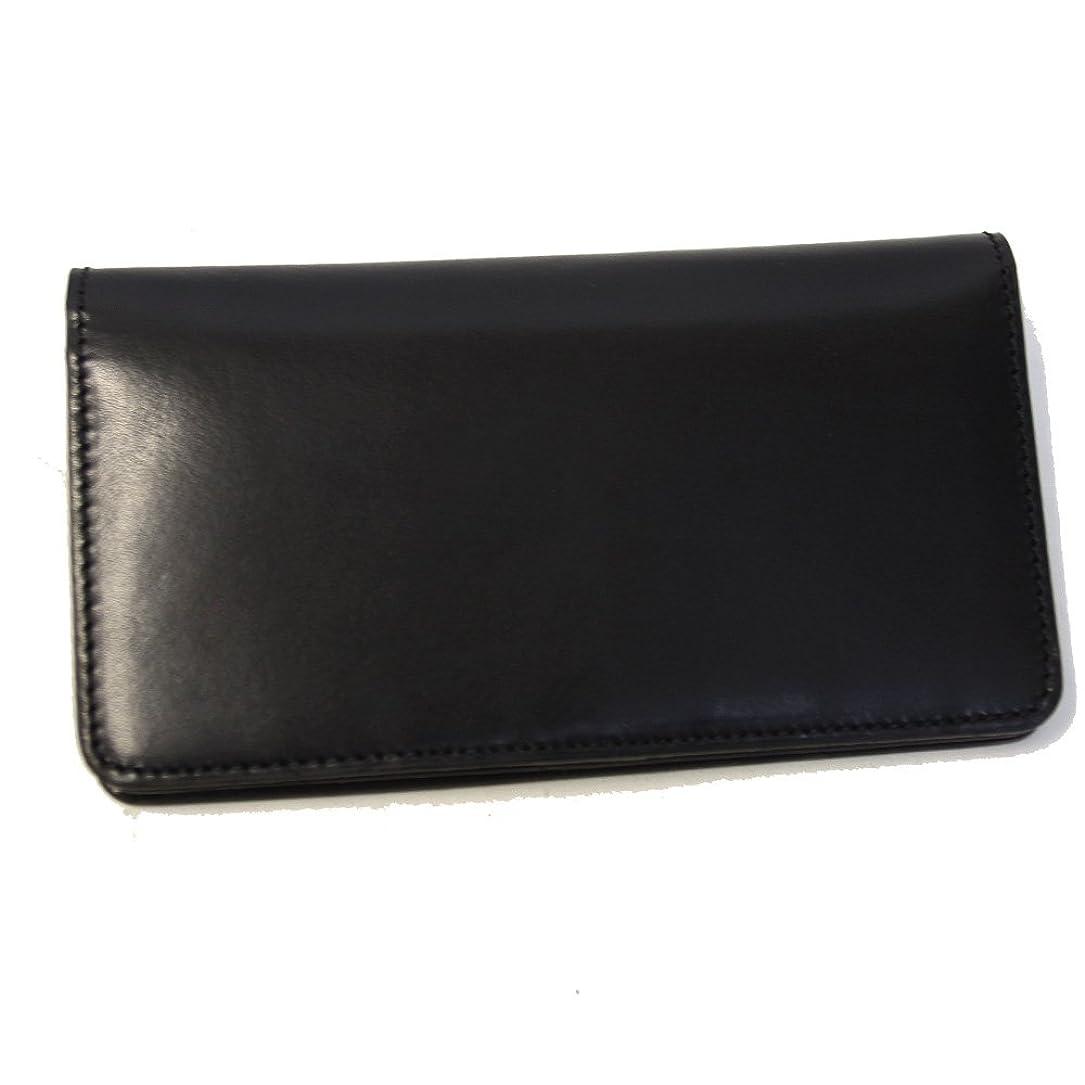 航海の重要な偽物長財布 かぶせ 財布 レディース メンズ ホークカンパニー Hawk Company 7220 ブラック