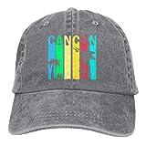 Sombrero del Camionero Cancún Retro Hombres Hiphop Mujeres Gorra De Béisbol Cómodo Papá Sombrero Impresión De Deportes Al Aire Libre Protector Solar Clásico Ajustable Gorra De Mez