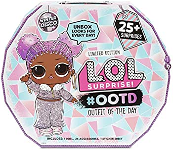 L.O.L. Surprise Ootd Outfit of The Day Winter Disco 25+ Surprises