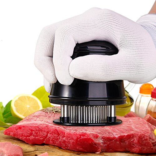 Needle Meat Tenderizer Perfect for All Meat Beef Steak Chicken-56 Stainless Steel Needle Blades Best Kitchen Accessories Kitchen Tool for Tenderizing Beef, Pork, Veal, Lamb and Chicken Steaks
