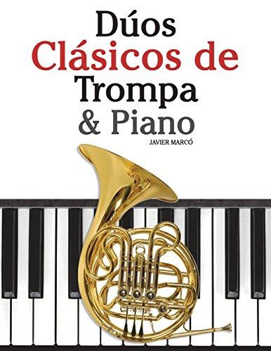 Dúos Clásicos de Trompa & Piano: Piezas fáciles de Bach,