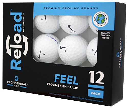 Reload Recycled Golf Balls (12-Pack) of Nike Golf Balls,...