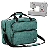 HOMEST Sewing Machine Carrying Case, Universal Tote Bag with Shoulder Strap Compatible with Most...
