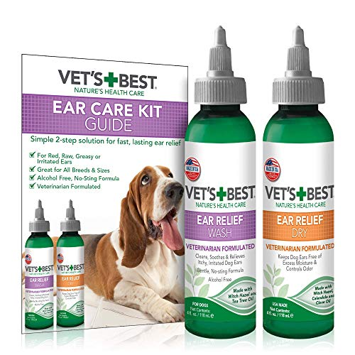 Vet's Best Dog Ear Cleaner Kit
