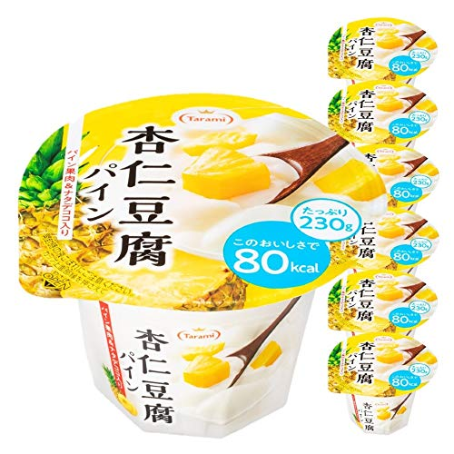 たらみ Tarami 杏仁豆腐 パイン 80kcal 230g × 36個