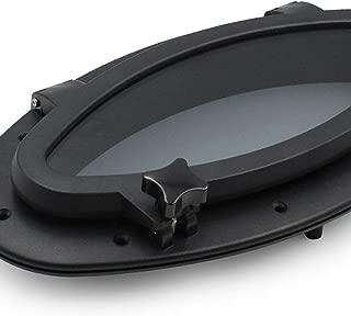 Boat Oval Shape Black Porthole Portlight Hatch Window 16