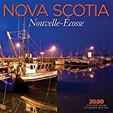 Nova Scotia 2020 12 x 12 Inch Monthly Square Wall Calendar, Canadian Regional Travel Canada (English and French Edition)