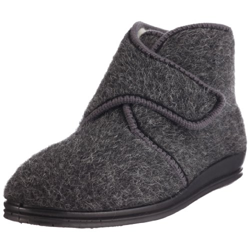 Rohde Marc 2613 - Zapatillas de casa de Tela para Hombre, Color Gris, Talla 41
