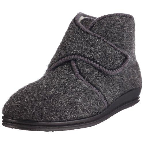 Rohde Marc 2613 - Zapatillas de casa de Tela para Hombre, Color Gris, Talla 44