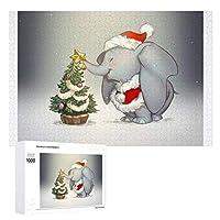 ダンボのクリスマス ディズニースターパズルセット子供は無毒 1000(PSC)29.5インチ* 19.7インチ