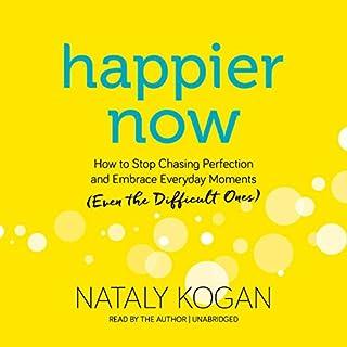 Happier Now audiobook cover art