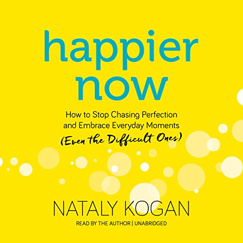 Happier Now audiobook cover art