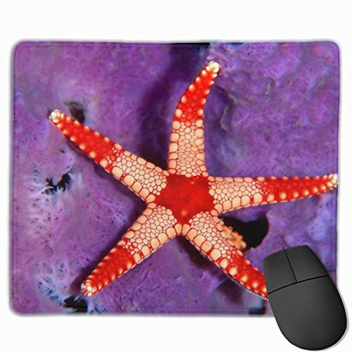 Mauspad Starfish Mousepads rutschfeste Gummi-Gaming-Mauspads Matte für Computer Laptop-038-3XV