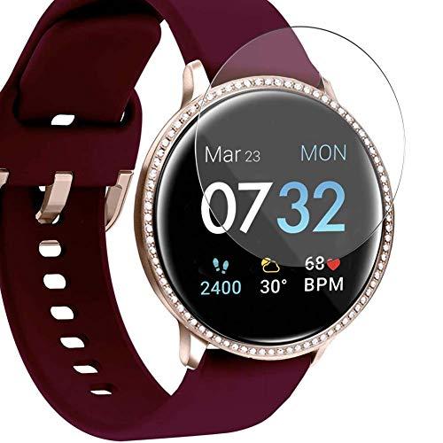 Vaxson 3 Unidades Protector de Pantalla de Cristal Templado, compatible con iTouch Sport SE Smart watch, 9H Película Protectora Film Guard Nueva Versión