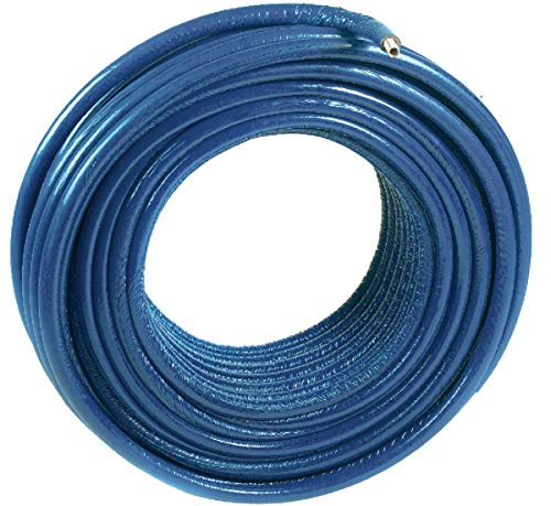 sourcing map 14mm x 10mm Tuyau Flexible PU air pneumatique 5 m/ètre tube 16.4ft//5m Bleu