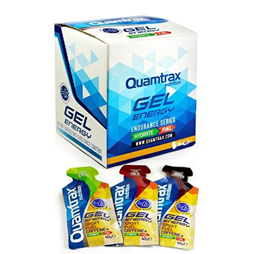 Quamtrax Power Energy Gel sabor Lima Limón - 18 sobres