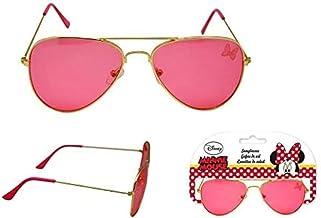 Minnie Mouse Premium metalen zonnebril, bergbeklimmen en trekking voor kinderen, jongeren, meerkleurig, eenheidsmaat