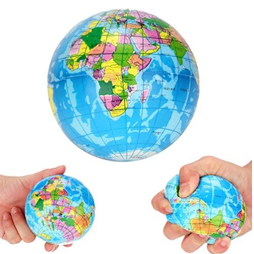 Caliente de la Llegada del Alivio de tensión Mapa del Mundo Espuma Globo de la Bola Bola Bola de la Tierra del Planeta por más de 6 Años de Edad