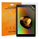 kwmobile 2X Schutzfolie kompatibel mit Amazon Fire HD 10 (2017/2019) - Folie entspiegelt Full Screen Tablet