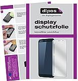 dipos I 2X Schutzfolie klar kompatibel mit RugGear RG850 Folie Bildschirmschutzfolie