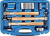 BGS 1672 | Juego de tases y martillos | 7 piezas